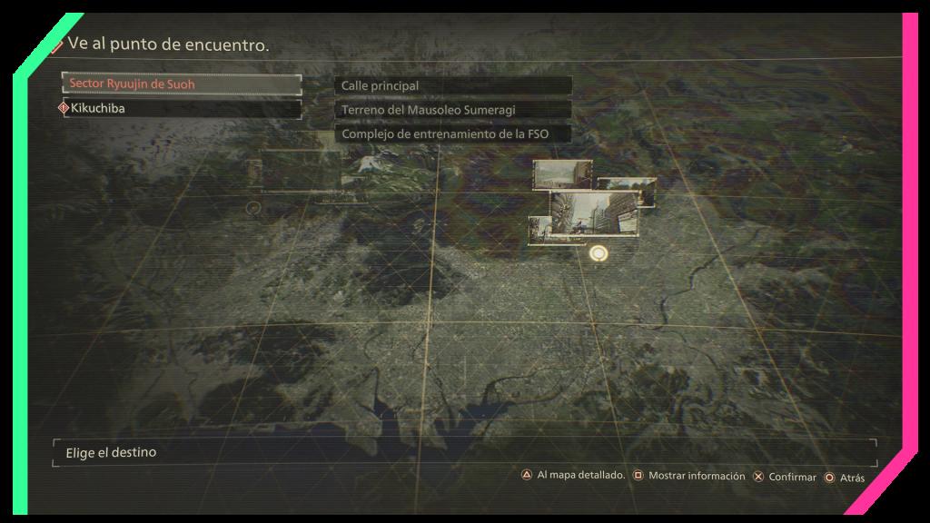scarlet nexus bandai namco map mapa